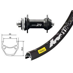 Bike-Parts Sykkel deler 27, 5 forhjul Mavic XM 319 plate + Deore XT...