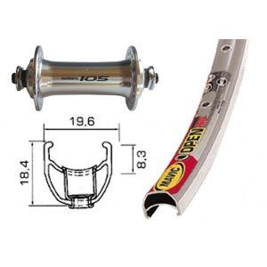 Bike-Parts Sykkel deler 28 tommer forhjul Mavic open Pro + Shimano ...