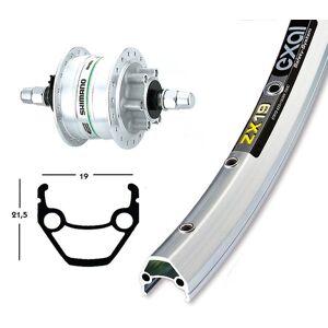 Bike-Parts Bike parts 26″ wheel Exal ZX 19 + hub Dynamo DH-3D32 6-hole Shimano