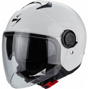 Scorpion Exo City Solid Jet hjelm Hvit 2XL