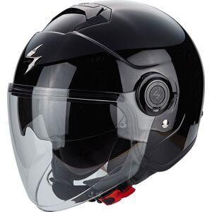 Scorpion Exo City Solid Jet hjelm Svart S