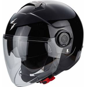 Scorpion Exo City Solid Jet hjelm Svart XL