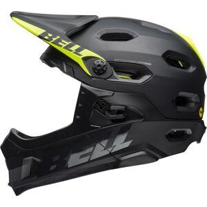 Bell Super DH Mips Downhill Hjelm Svart Grønn M