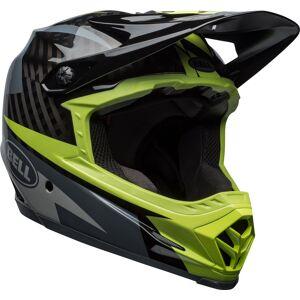 Bell Full-9 2018 Downhill hjelm Grå Grønn 2XL