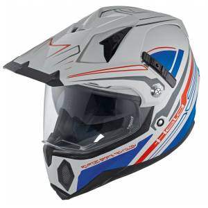 Held Makan Motocross hjelm 2XL Grå Blå