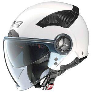 Nolan N33 Evo Classic Jet hjelm M Hvit