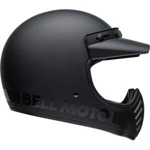 Bell Moto-3 Classic Motocross hjelm S Svart