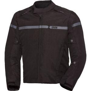 IXS Sport 200 RS-200-ST vanntett motorsykkel tekstil jakke 2XL Svart