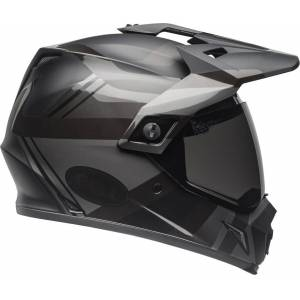 Bell MX-9 Adventure Mips Blackout Motocross hjelm S Svart Rød Sølv