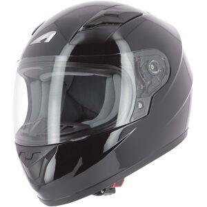Astone GT2K Monocolor Barne hjelm L Svart