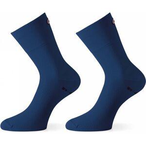 Assos - Assosoires GT Herr Cykelsockor (blå) - EU 40 - 43