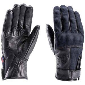 Blauer Combo Denim Motorcykel handskar Svart XL