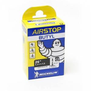 Michelin Cykelslang Michelin Airstop 26 x 1,1-1,5 Prestaventil 40mm