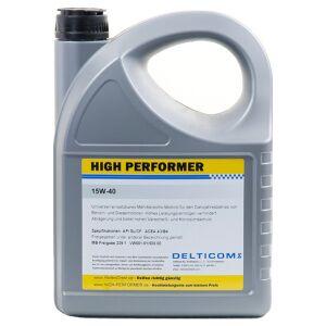 High Performer 15W-40 Ganzjahresöl 5 Liter Burk