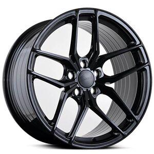 ABS F17 GLOSSY BLACK 5x110 ET 38 CB 74.1