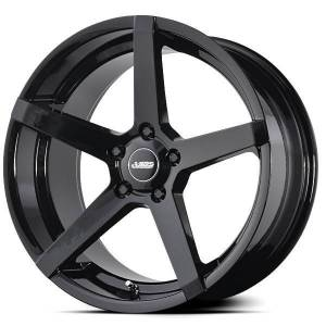 ABS355 GLOSSY BLACK 5x118 ET 35 CB 74.1