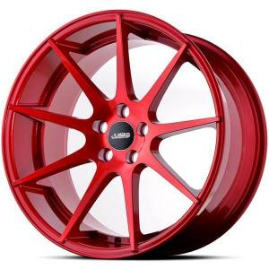 ABS356 Candy Red 5x118 ET 40 CB 74.1