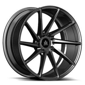 ABS Ferro Wheels FW5 RIGHT Hiper Black 5x115 ET 35 CB 74.1