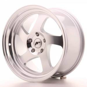 JR15 JAPAN RACING JR15 Machined Face Silver 4x108 ET 25 CB 74.1