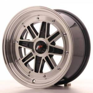 JR31 JAPAN RACING JR31 Machined Face Black 4x114.3 ET 20 CB 73.1