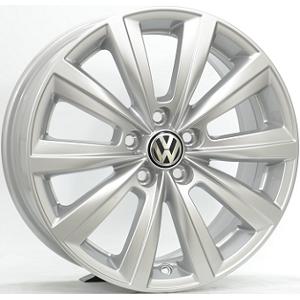 OEM Original 7,0X16 VW MISTRAL 5/100 ET46 CH57,1 Silver 5 ET 46 CB 57.1