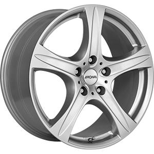 RONAL 8,5X18 RONAL R55 SUV 5/112 ET45 CH76 Crystal Silver 5 ET 45 CB 76