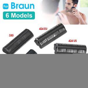 Braun Replacement Shaver Cutter for Braun 330 346 383 410 424EU 424US 10B 20B 20S 428EU 428US 5235 5533 Razor Shaver Cutter 5 Types