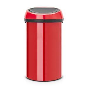 Brabantia Touch Bin Søppelbøtte 60L, Passion Red