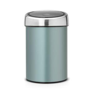 Brabantia Touch Bin Søppelbøtte 3L, Metallic Mint