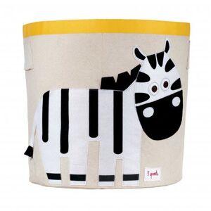 3 Sprouts Lekekurv, Zebra