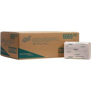 Scott Pappershandduk Xtra medium 1-lager, 240 ark, kedjevikt, 200 mm, vit