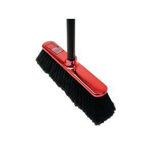 Sopborste Shinybrush röd med skaft