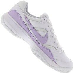 Nike Tênis Nike Court Lite - Feminino - BRANCO/ROXO CLA