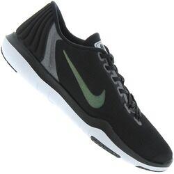 Nike Tênis Nike Flex Supreme TR 5 MTLC - Feminino - PRETO