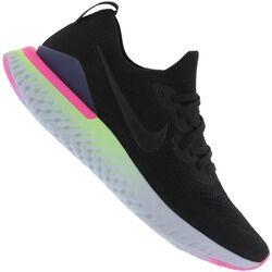 Nike Tênis Nike Epic React Flyknit 2 - Feminino - PRETO/ROSA