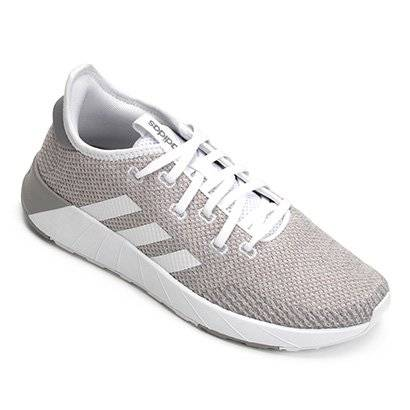 Tênis Adidas Questar X Byd Feminino - Feminino-Branco