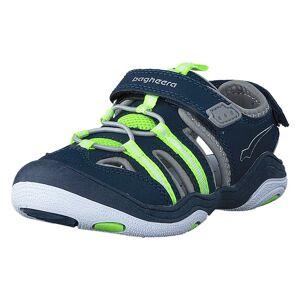 Bagheera Flurry Navy/Lime, Børn, Shoes, blå, EU 22
