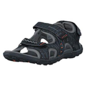 Bagheera Spirit Black/Grey, Shoes, grå, EU 34