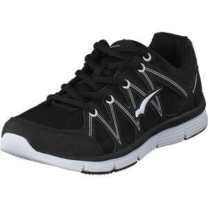 Bagheera Omega Black/White, Sko, Sneakers og Træningssko, Sneakers, Sort, Unisex, 45