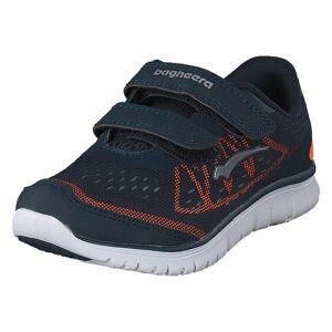Bagheera Player Navy/Orange, Børn, Shoes, blå, EU 20