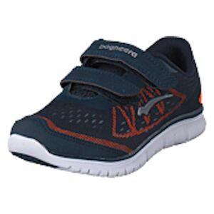 Bagheera Player Navy/Orange, Shoes, blå, EU 26