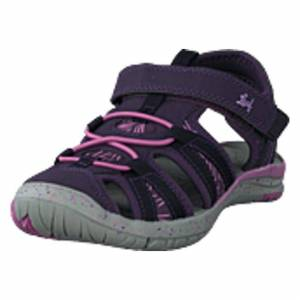 Leaf Salo Dk Purple, Shoes, grå, EU 32