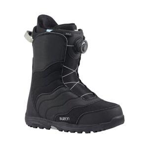 Burton Women's Mint Boa Snowboard Boot Sort Sort 6.5