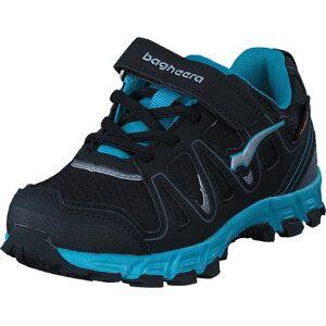Bagheera Sirius Black/turquoise, Kengät, Sneakerit ja urheilukengät, Tennarit, Musta, Lapset, 33