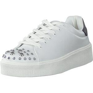 Vero Moda Vmsitta Sneaker Snow White, Kengät, Sneakerit ja urheilukengät, Sneakerit, Valkoinen, Naiset, 37