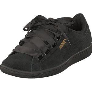 Puma Vikky Ribbon S Puma Black-puma Black, Kengät, Sneakerit ja urheilukengät, Sneakerit, Harmaa, Musta, Naiset, 37