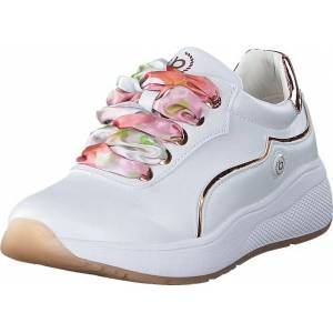 Bugatti Malou White, Kengät, Sneakerit ja urheilukengät, Sneakerit, Valkoinen, Naiset, 37