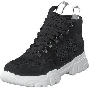 Bianco Biacanary Hiking Hightop Black, Kengät, Bootsit, Vaelluskengät, Musta, Naiset, 38