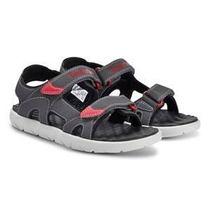 Timberland Perkins Row 2 Strap Sandal Forged Iron Lasten kengt 24 (US 7,5)