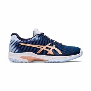 Asics Solution Speed FF Clay/Padel Women Peacoat/Rose Gold 40.5
